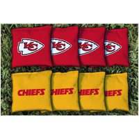 Kansas City Chiefs Replacement Corn-Filled Cornhole Bag Set - No Size