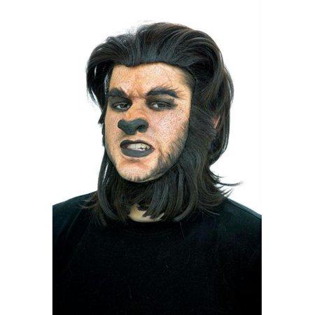 Werewolf Nose](Halloween Werewolf Drawing)