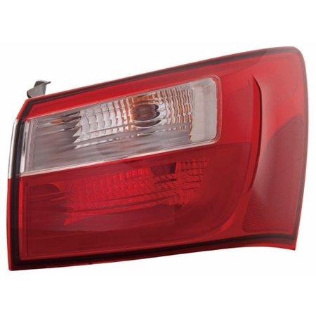 Go Parts 187 2012 2016 Kia Rio Rear Tail Light Lamp