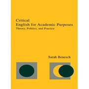 Critical English for Academic Purposes - eBook