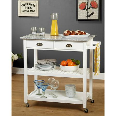 TMS Oregon Kitchen Cart, Multiple Colors