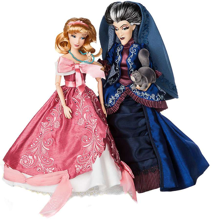 Disney Fairytale Designer Collection Cinderella & Lady Tremaine Doll Set by