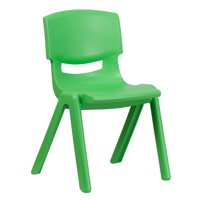 Lancaster Home Plastic Stackable School Chair with 15.5-inch Seat Height