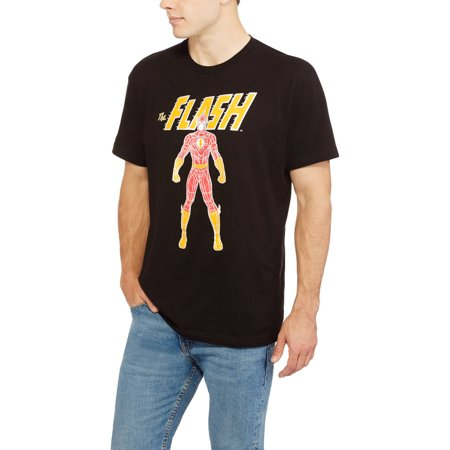 Mens The Flash Faceted Tee