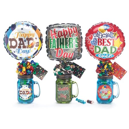 Happy Fathers Day Mason Jar Gift Set