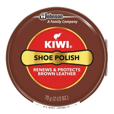 KIWI Polish Paste Brown Giant 2.5 oz (Kiwi Polish Paste)
