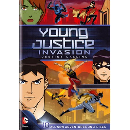 Young Justice Invasion: Destiny Calling: Season 2 Part 1 (DVD) - Robin Young Justice