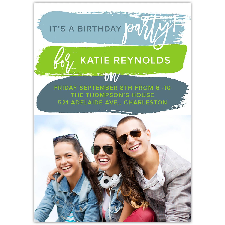 Bold and Fun Birthday General Invitation