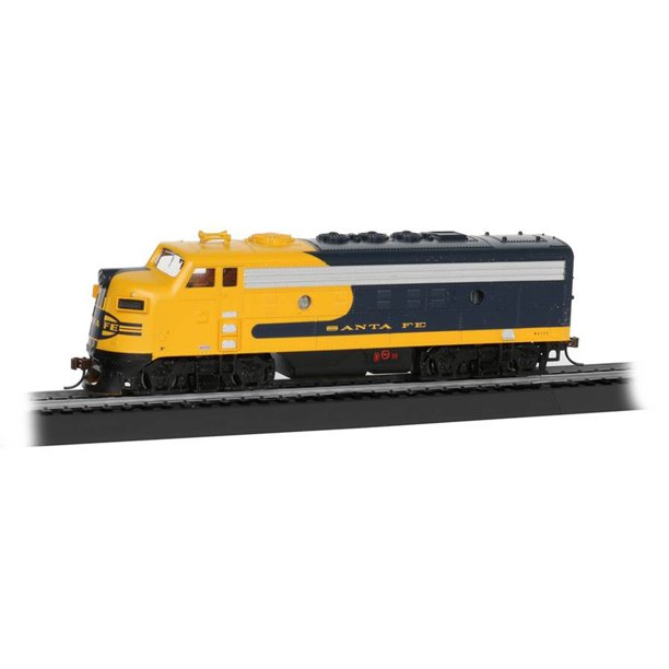 Bachmann Trains Ho Scale Santa Fe War Chief Ready To Run Electric Powered Model Train Set Walmart Com Walmart Com