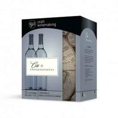 - Chardonnay California Cru International Wine Kit 12L