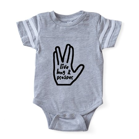 CafePress - Live Long Prosper - Cute Infant Baby Football
