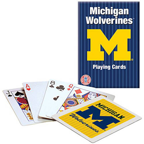Officially Licensed NCAA Michigan Playing Cards