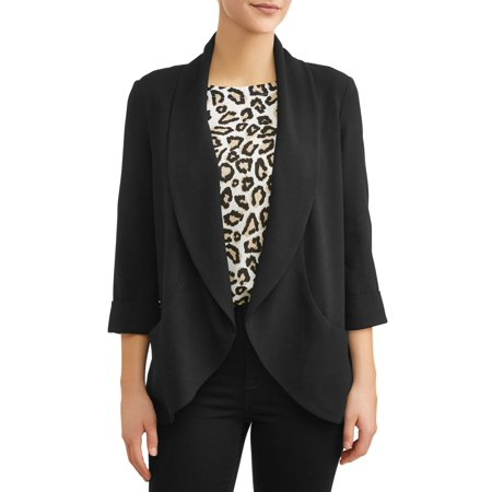 100 Percent Blazer (Women's Drape Front Blazer)