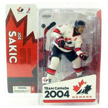 McFarlane NHL Sports Picks Team Canada Joe Sakic Action Figure ()