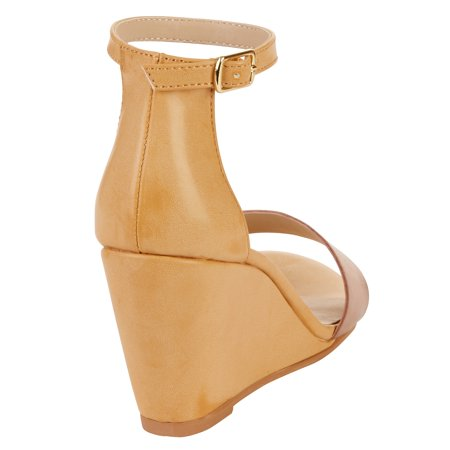 Melrose Ave Women's Said And Done Vegan Heeled Sandal