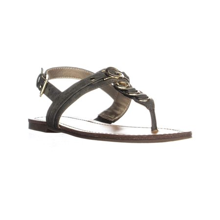 Guess Lined Sandals - G By Guess Womens Lesha Open Toe Casual Slingback Sandals