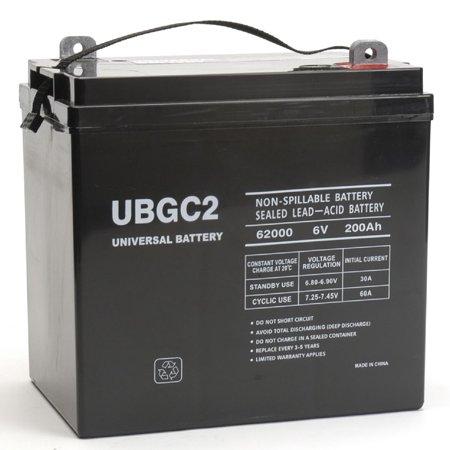 upg ub gc2 golf cart sla agm battery sealed lead acid. Black Bedroom Furniture Sets. Home Design Ideas