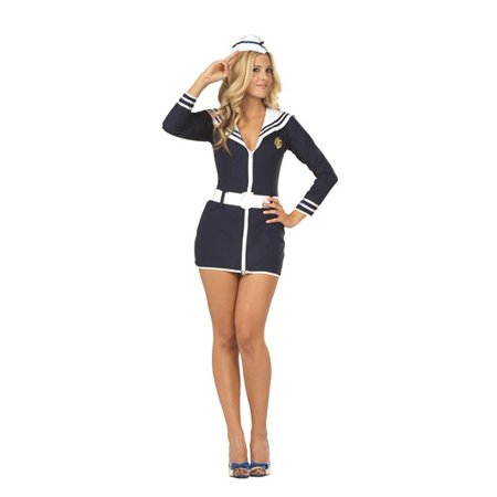 Womens Sailor Babe Costume - Sailor Costume
