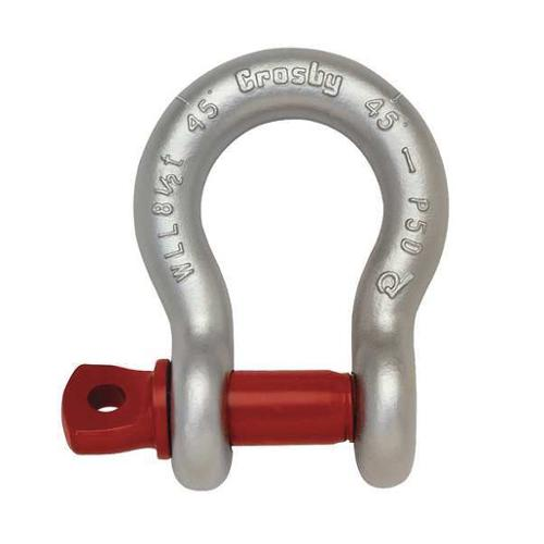 CROSBY 1018357 Anchor Shackle,Carbon Steel,660 lb.