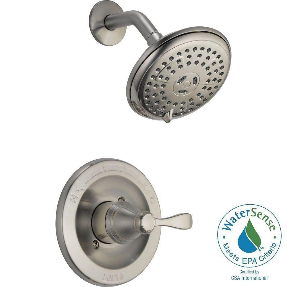 Delta 142984-BN-A Porter Single Handle Shower Faucet Set - Walmart.com
