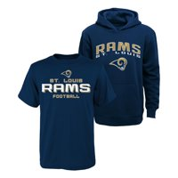 Classic St. Louis Rams Youth T-Shirt & Hoodie Set - Navy