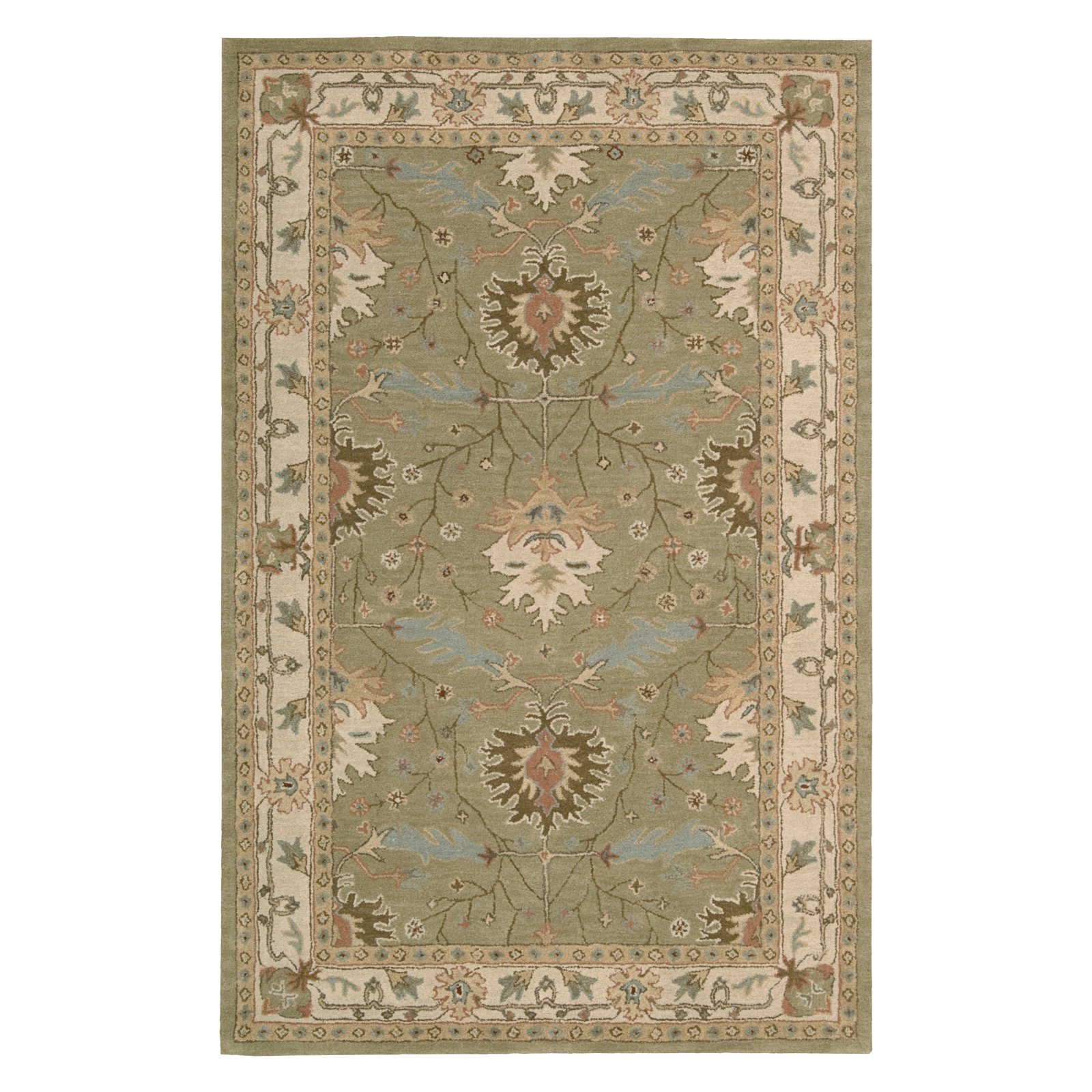 Nourison India House Classic Traditional Pattern Area Rug