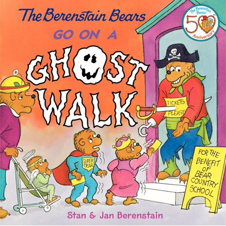 Berenstain Bears (8x8): The Berenstain Bears Go on a Ghost Walk (Hardcover)