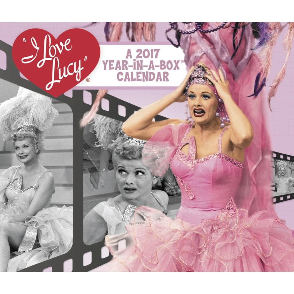 I Love Lucy Desk Calendar