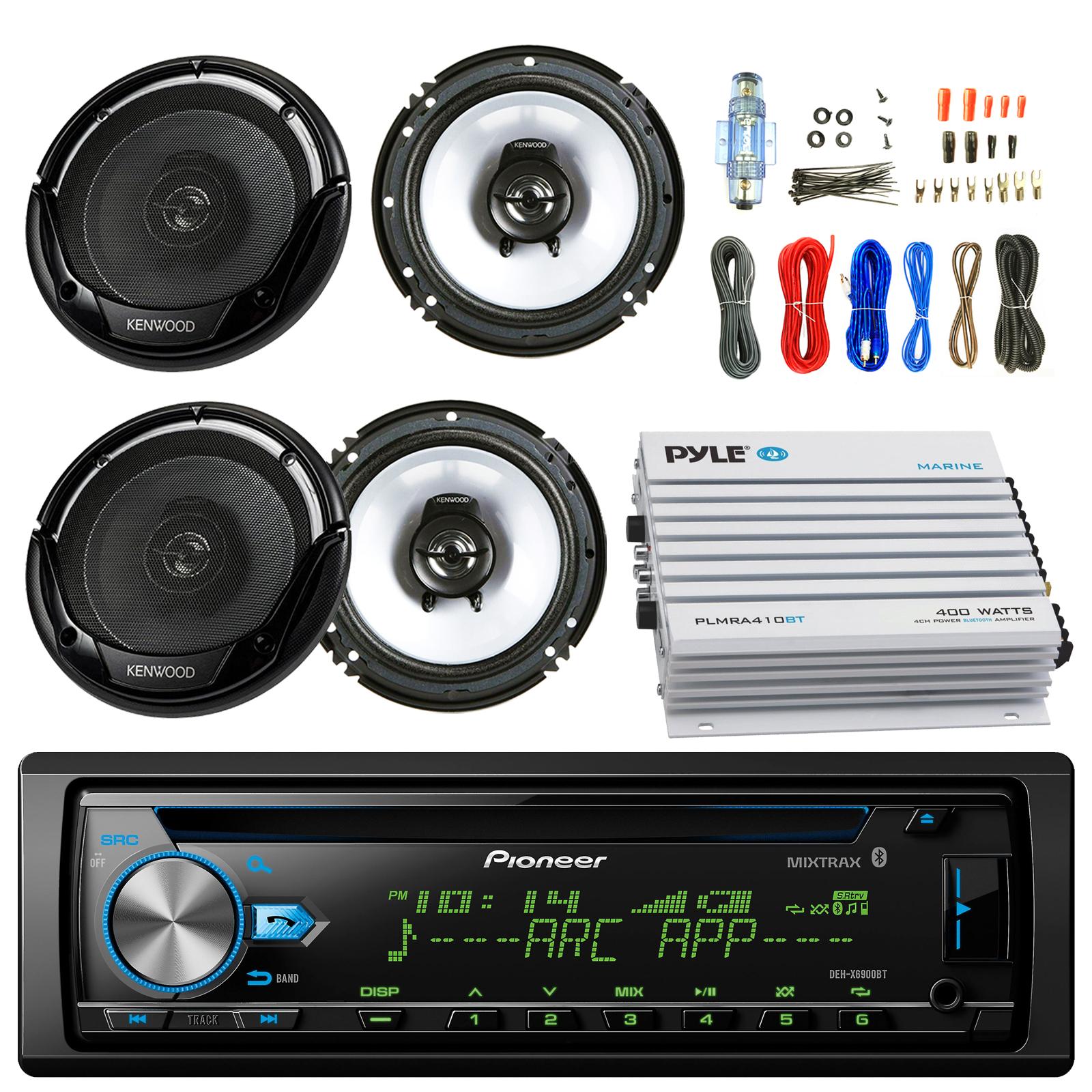 Pioneer DEH-X6900BT Car CD Player Receiver Bluetooth USB ...