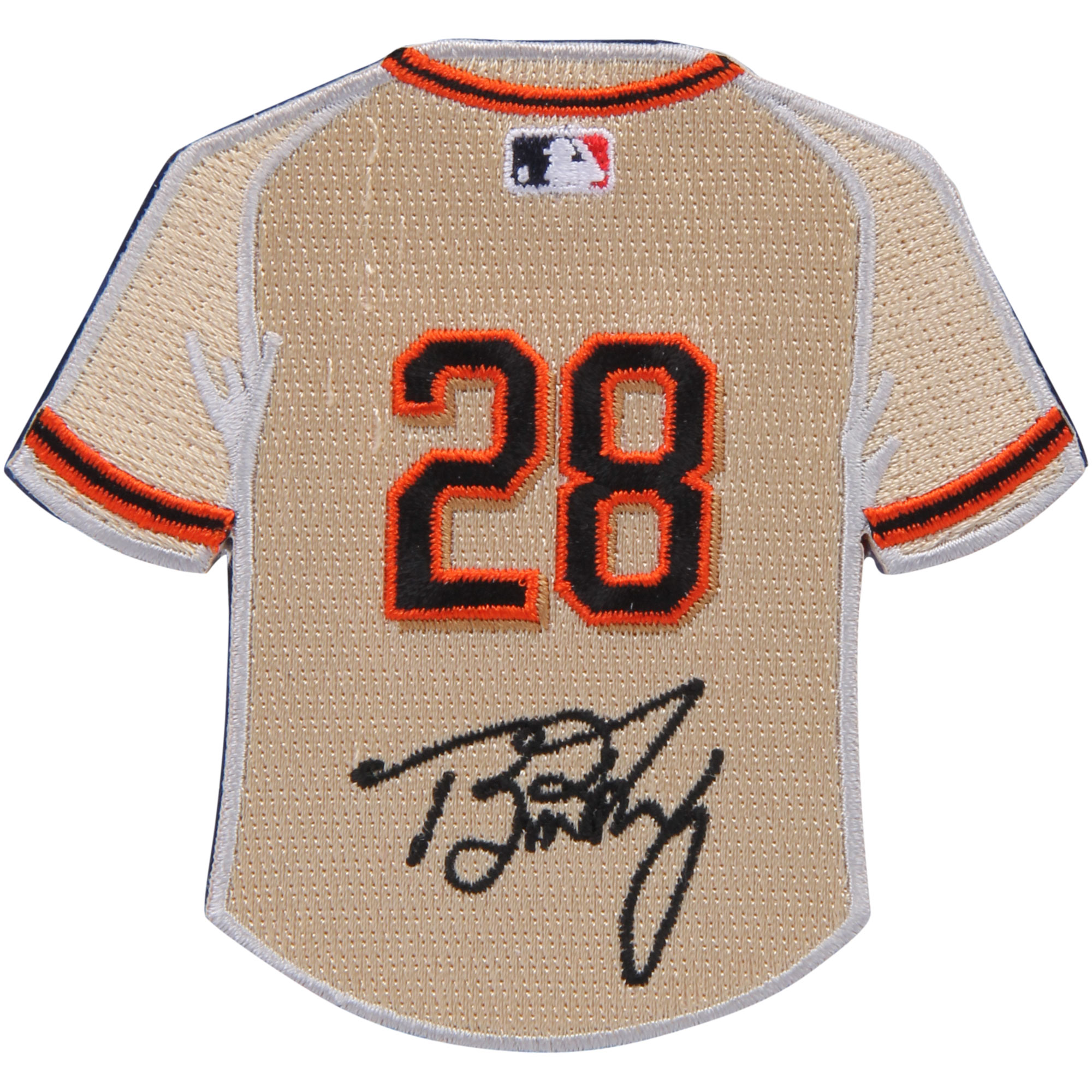 Buster Posey San Francisco Giants Mini Jersey Patch - No Size