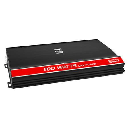 Dual 90 Watts x 4 Channel Amplifier