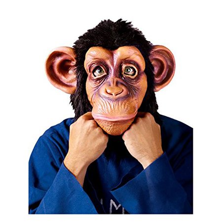 Comic Chimp Mask from The Lazy Song Adult Halloween Accessory - Great Halloween Karaoke Songs