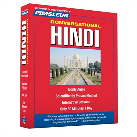 Pimsleur Hindi Conversational Course - Level 1 Lessons 1-16 CD : Learn to  Speak and Understand Hindi with Pimsleur Language Programs