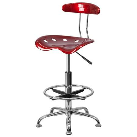 Delacora Ff Lf 215 17 25 Inch Wide Metal Swivel Seat