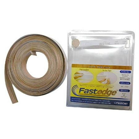 - Fastcap Fastedge Peel & Stick Edge Tape 50' Roll Pvc Hardrock Maple