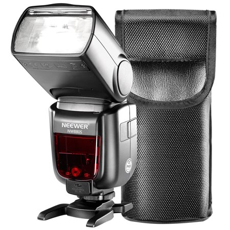 Neewer TTL Flash for Sony New Mi Hot Shoe Camera GN60 HSS 2.4G Wireless 1/8000 Master Slave Speedlite for Sony A77II A7RII A7R A58 A99