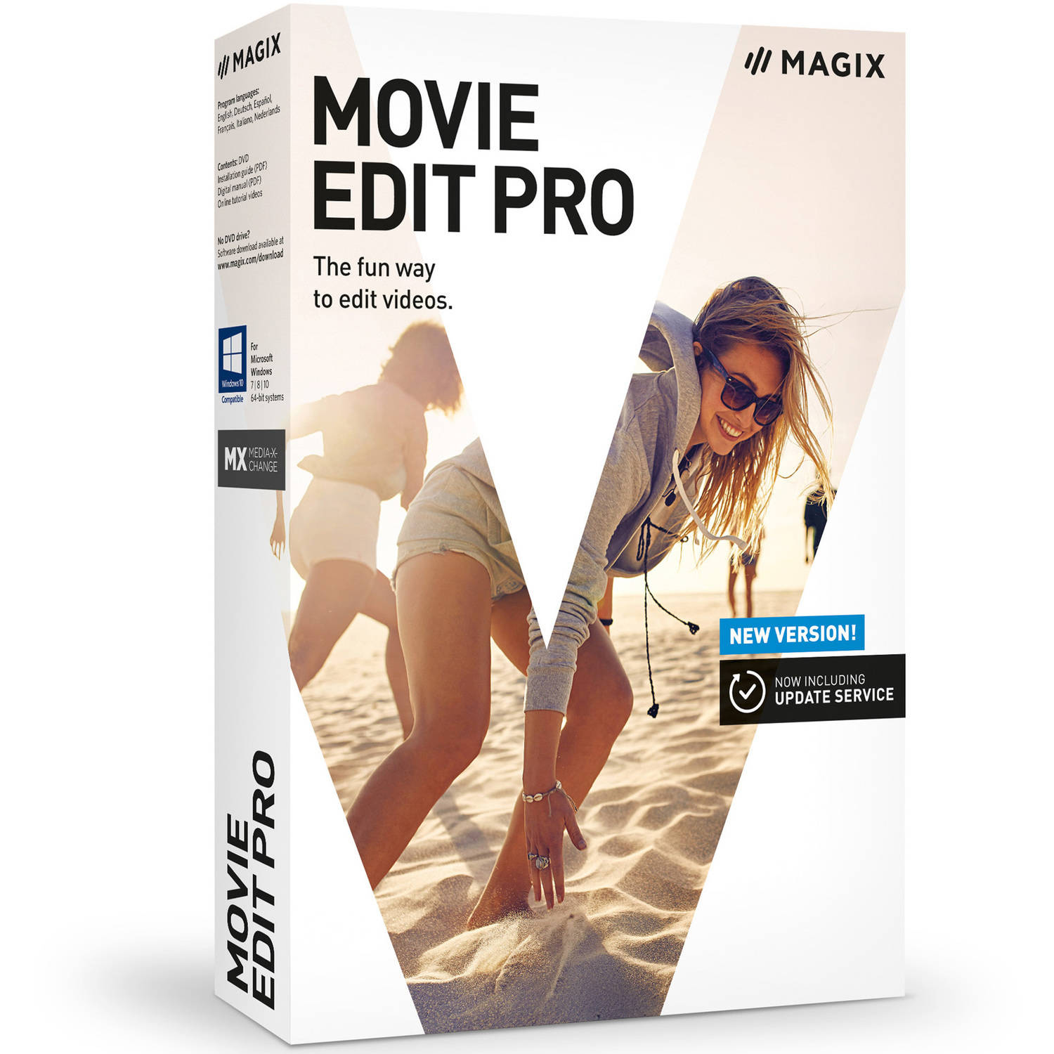 Magix Software ANR005960ESD Magix Movie Edit Pro ESD (Digital Code)