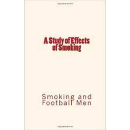 A Study of Effects of Smoking - eBook