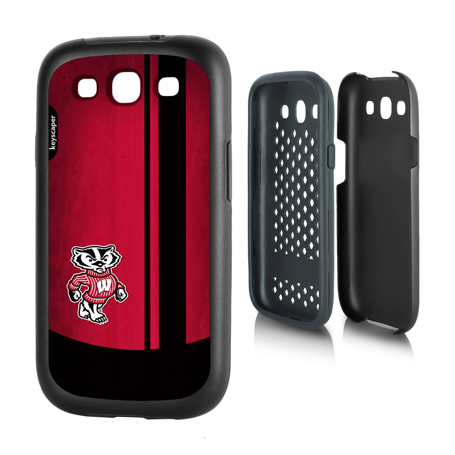 Wisconsin Badgers Galaxy S3 Rugged Case