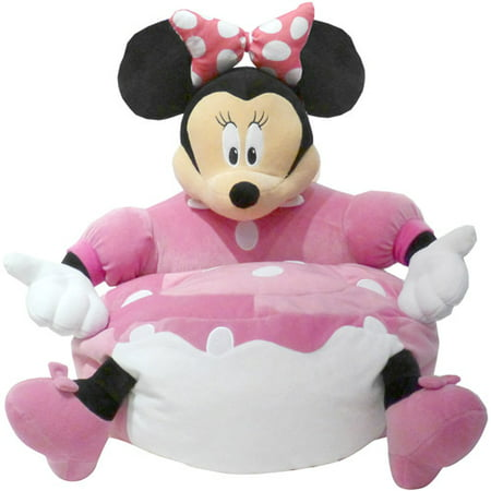 Disney Minnie Mouse Figural Bean Bag Chair Walmartcom