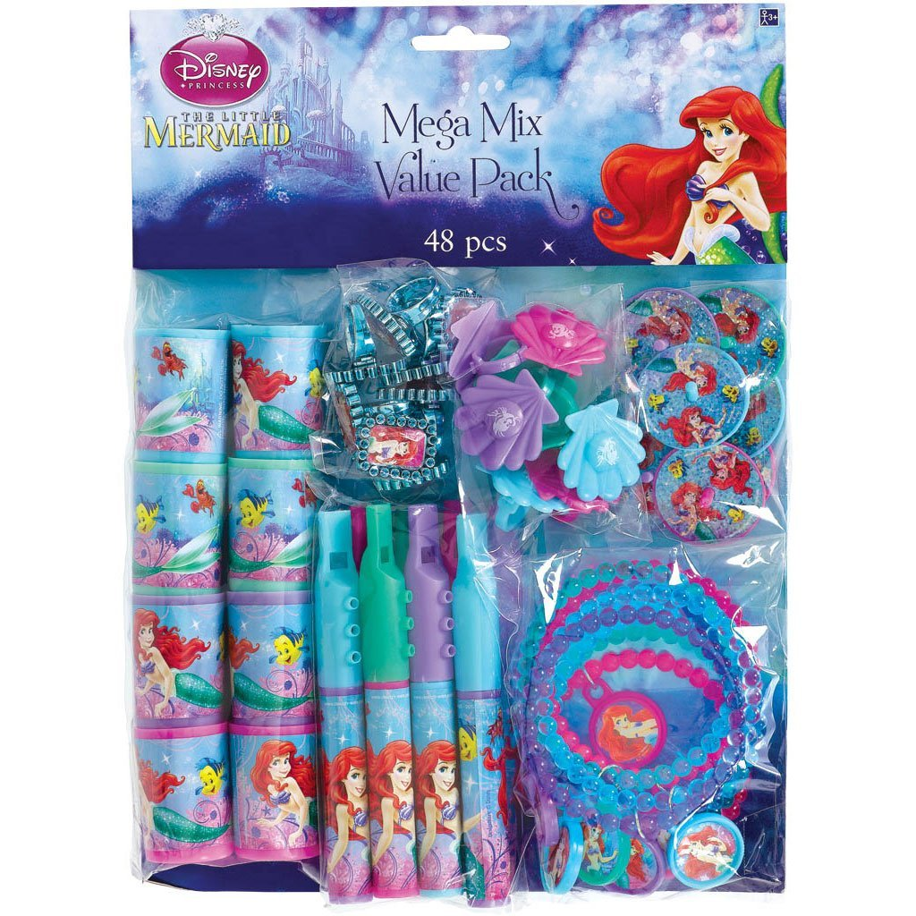 The Little Mermaid Party Favor Pack, Value Pack, Party Supplies