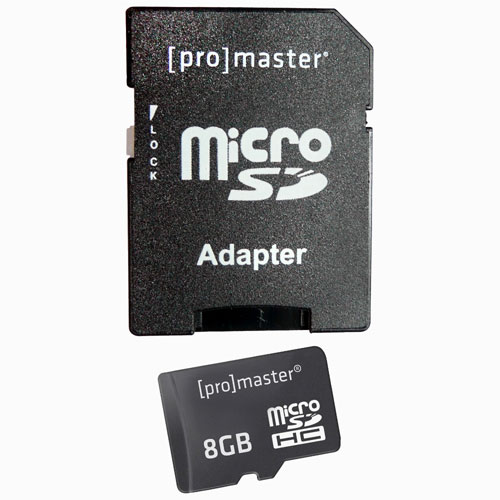 Promaster 8GB Micro SD Memory Card