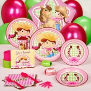Pink Cowgirl Standard Party Pack of 8