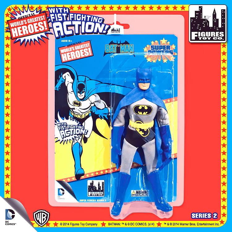 "Batman World's Greatest Heroes Super Powers Series 2 Batman 8"" Action Figures"