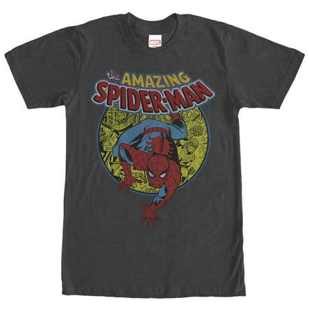 Marvel Men's Amazing Spider-Man Responsibility T-Shirt ()