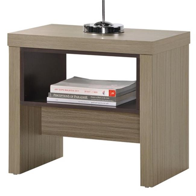 WHI 501-376 Polo Accent Table, Driftwood