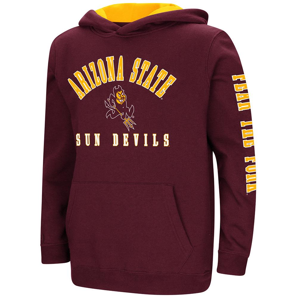 Youth Arizona State Sun Devils Pull-over Hoodie - S