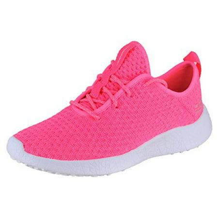 b2b21ba7b0d9 Skechers - 12789 Neon Pink Skechers Shoes Burst Memory Foam Women s Soft  Woven Sporty Knit 12789NPNK - Walmart.com