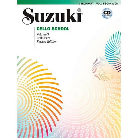 Suzuki Suzuki Cello School Book & CD Volume 3 (High School Musical 1 2 And 3)