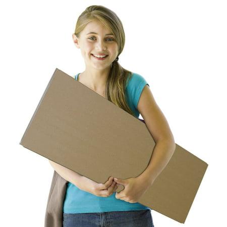 - Spotlight Corrugated Presentation Display Board, White, 48 x 36